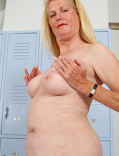 A Little Yoga In The Nude Keeps 55 Year Old Josie Smoking Hot