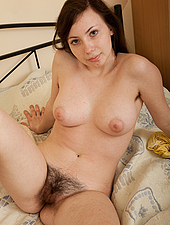 Sexy Silviya toys on the bed