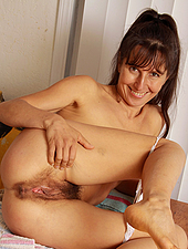 Hairy Carmen gets her house work done