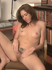 Katie Angel is hot and tired of working