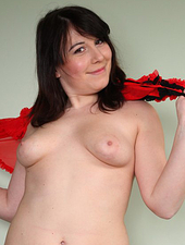 Very Furry Brunette Amateur Spreads And Fingers Herself
