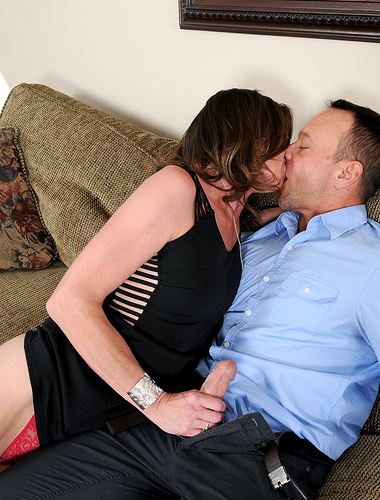 41 year old Jizzabelle getting her tidy pussy stuffed with hard cock